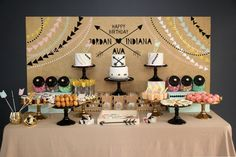 Little Big Company the Blog, Modern Aztec Inspired Party by Styled by Belle with Milka Interiors