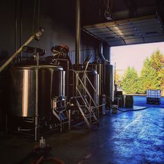 Nothing like an early morning brew... #vacraftbeer by heritagebrewing