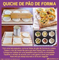 15 Receitas-e-Truques para transformar o Pão de Forma em banquete! | SOS Solteiros