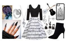 """""""Music Lover"""" by livvyandbella ❤ liked on Polyvore featuring Belk Silverworks, BERRICLE, Allurez, Uttermost, Yamaha and Casetify"""