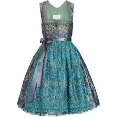 schmittundschäfer Designer Dirndl AMELIA ROSE schmittundschäfer ($710) ❤ liked on Polyvore featuring dresses e amelia rose