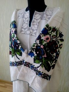 Ukraine, from Iryna Embroidery Dress, Embroidery Applique, Folk Costume, Costumes, Lace Beadwork, Cutwork, Clothing Patterns, Ukraine, Crop Tops