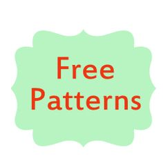 Free Japanese Crochet and Knitting Patterns - from By Number 19