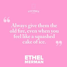 Ethel Merman, Theatre Quotes, Monologues, Sheet Music, Encouragement, How Are You Feeling, Feelings, Theater Quotes, Music Sheets