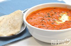 Ajvar Hackfleisch Suppe vegetarisch auch vegan möglich aus dem Thermomix