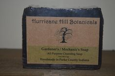 Check out Gardeners and Mechanics Soap-All Natural-New recipe on hurricanehill