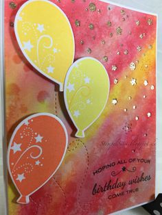 #PTI, #Versacolor, #DistressInk, Geburtstagskarte, birthday card #StempelSissi #Sissi_s_kreatives_Kämmerlein #StempelSissi #Sissi_s_kreatives_Kämmerlein