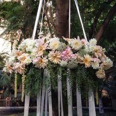 #floralchandelier