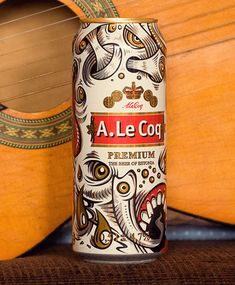 A. Le Coq Beer Can