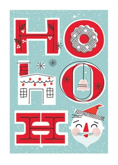 Christmas / XMS-58 - Ho Ho Home / Holiday Cards from Lure Paper Goods