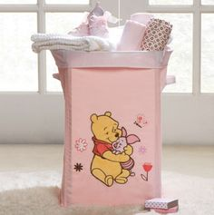 Girls Winnie the Pooh Collapsible Storage