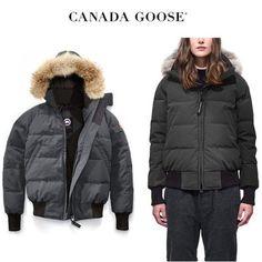 CANADA GOOSE ダウンジャケット・コート CANADA GOOSE Savona Bomber COOL&スタイリッシュなGraphite Canada Goose Women, Winter Jackets, Fashion, Winter Coats, Moda, Winter Vest Outfits, Fashion Styles, Fashion Illustrations