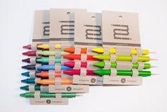 Crayon packaging.