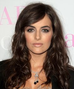 Pictures of Camilla Belle with side swept bangs | Camilla Belle - Hairstyle