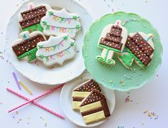 """Munchkin Munchies: Birthday Cookies and a """"Decorating Cookies Party"""" {by Bridget Edwards}"""