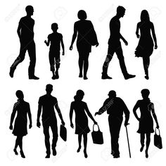 exhibition silhouettes - Google Search