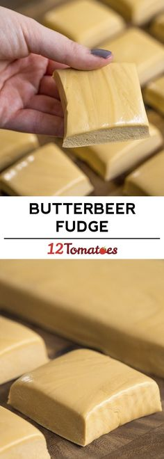 Butterbeer Fudge - Any Harry Potter fans out there??