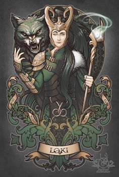 House of Loki: Sons of Mischief by Medusa-Dollmaker on deviantART