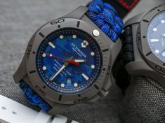 Victorinox Swiss Army INOX Professional Diver Titanium Watches Hands-On Titanium Watches, Swiss Army Watches, Victorinox Swiss Army, G Shock Watches, Really Cool Stuff, Hands, Tag Heuer, Engineering, Racing