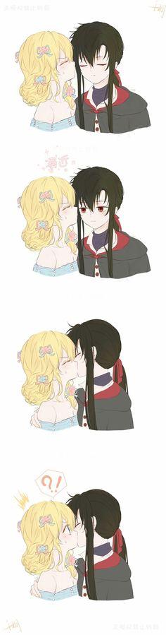 Anime Love Couple, Manga Couple, Anime Couples Manga, Cute Anime Couples, Manga Anime, Manga Tumblr, Yandere Girl, Romantic Manga, Anime Princess