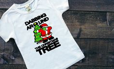 Dabbing Around The Christmas Tree Baseball by SimplySweetJBoutique
