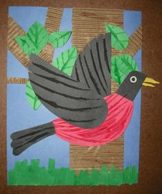 Art Smarts 4 Kids: Create Your Own Lois Ehlert Bird. Might be a neat cover for a bird journal.