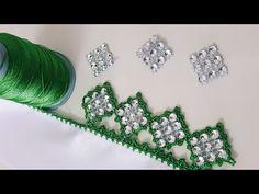 Kesme Boncuk Oyası Yapımı - YouTube
