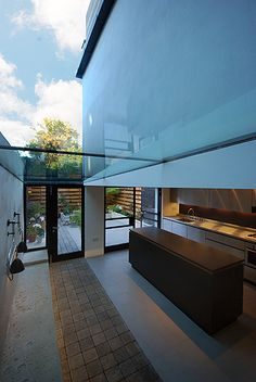 Calabria Road Islington kitchen dining room rear terrace view
