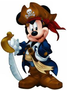 Pirate Mickey .... arrrgh!