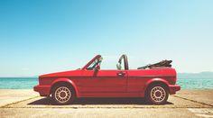 Sonido del motor by Ibai Acevedo, via Flickr I have the '89 VW Cabriolet in Grey :)