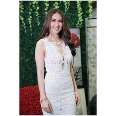 Top 10 Asian Countries with The Most Beautiful Girl - The Most Beautiful Girl, Beautiful People, Marian Rivera, Pinoy, Fashion Outfits, Womens Fashion, Girls Out, Actors & Actresses, White Dress
