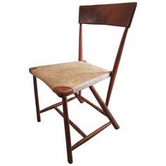 Wharton Esherick Hammer Handle Chair for the Hedgerow Theater | 1stdibs.com