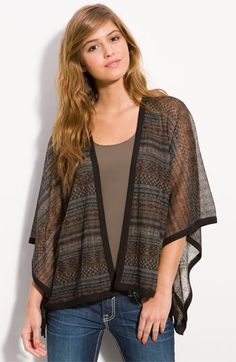 Sheer Poncho from Nordstrom