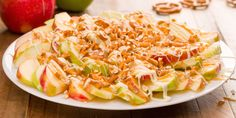 How to Make Apple Nachos, but, feel free to use your own variation!