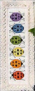 Ladybug Printable Pattern | This Ladybug Bookmark from Casey Buonaugurio Designs would make a ...