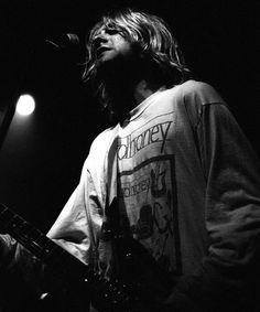 Kurt Cobain - Germany, 1991.