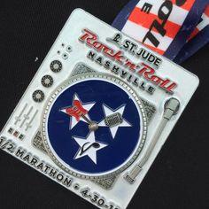 Rock 'n' Roll Nashville half marathon race report!