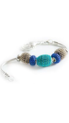 by Belleza Jewelry  Royal Turquoise Bracelet