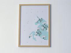 Pour la sixième édition du projet DIY sur le thème des imprimés fleuris, je vous propose de réaliser un cadre licorne. Idee Diy, Frame, Voici, Home Decor, Frames, Floral, Unicorns, Picture Frame, Decoration Home