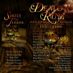 "Angelic Knight Press presents Demon Rum and other Evil Spirits featuring my story ""The Olive Branch"" Oliver Smith, Evil Spirits, Rum, Knight, My Books, Presents, Angel, Gifts, Rome"