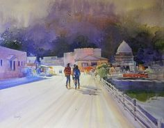 Watercolour Paintings By Bijay Biswaal on Behance