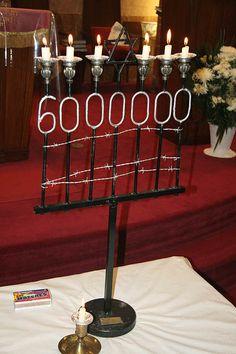 Yom HaShoah  6,000,000 perished.  Never again.