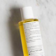 Here's a body oil that you can use in the morning, and yes, even after the gym