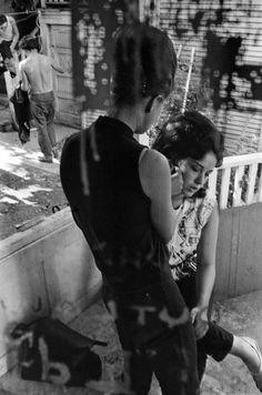 Danny Lyon, Barbara at the Clubhouse in Chicago, 1963-1967.