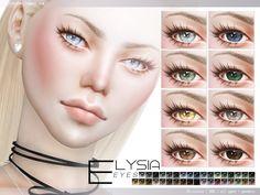 Elysia Eyes - The Sims 4 Catalog Sims 4 Cas, My Sims, Sims Cc, Sims 4 Mods Clothes, Sims Mods, The Sims 4 Skin, Sims 4 Cc Eyes, Pelo Sims, Sims 4 Cc Makeup