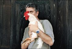 bourdain. wonder what his plans are for that chicken...  on crossing roads: http://philosophy.eserver.org/chicken.txt