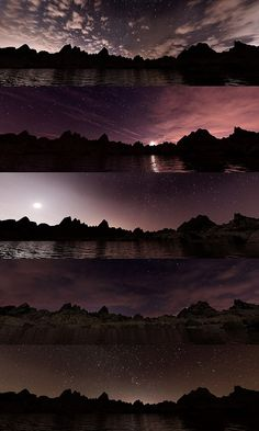 Halo Collection, Winter Mountain, Dusk, Underwater, Northern Lights, Sunrise, Mountains, Night, City