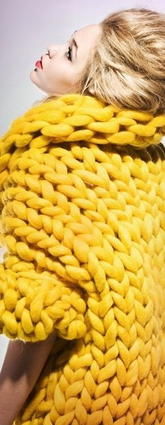 we <3 bright colours so, so much! Even the chunky knit kinds!