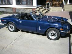 1973 Triumph Spitfire 1500 Beautiful #2 condition classic convertible