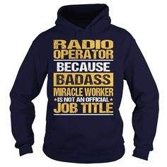 Awesome Tee For Radio Operator